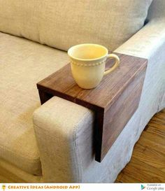 Great idea for no fuss cup holder for your chair.