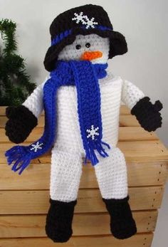 Frosty TP Topper Crochet Pattern