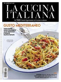 """Find magazines, catalogs and publications about """"la cucina italiana"""", and discover more great content on issuu. Magazine Articles, Make It Simple, Easy Meals, Good Food, Cooking Recipes, Ethnic Recipes, Magazines, Alice, Online Library"""