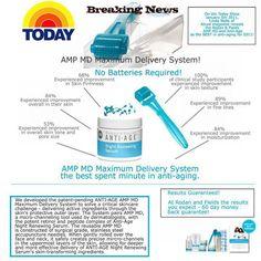 The New AMP MD by Rodan+Fields!  Better than Botox!  http://lisahill.myrandf.com