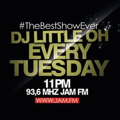 JAM FM #TheBestShowEver 07-24-2012 by Dj Little Oh by Dj Little Oh, via SoundCloud