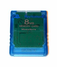 Playstation 2 Memory Card 8 MB Speicherkarte Blau für PS2 MagicGate