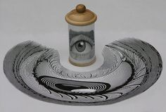 Istvan Orosz Creates Distorted Images You Need a Mirror to Comprehend