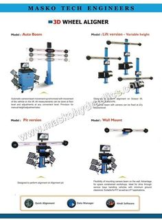 We are manufacturer, supplier and exporter of Wheel Aligner from Rajkot, Gujarat, India. Engineers, Tech, Technology