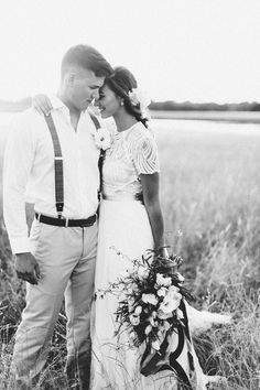 Big Sky Wedding Inspiration by Anna Smith and Keestone Events - Southern Weddings