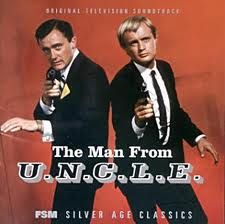 The Man from U.N.C.L.E. I was too young to remember this...but am repinning cuz its DUCKY!!!