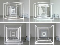 Jeppe Hein / Extended Neon Cube