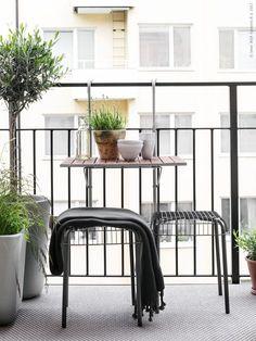 Vi inreder citybalkongen | IKEA Livet Hemma – inspirerande inredning för hemmet