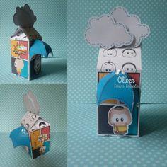 Caixa Milk Cascão by Oliver Festas Infantis