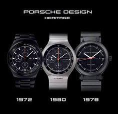 Porsche Design Heritage Timepieces