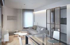 Architectural visualization and interior design housing project. Project and construction by Veintitres Creative Studio.   http://veintitresestudio.com/portfolio-items/0055/?portfolioID=10320  #architecture #arquitectura #interiorism #interiordesign #interiorismo #stua #sancal #enea #ondarreta #salon