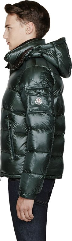 Moncler - Green Removable Collar Zin Jacket
