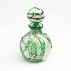 Perfume bottle. Wight Island Glass