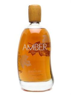 Amber Macallan Liqour (a liqueur with a maple syrup and pecans flavor)  #packaging