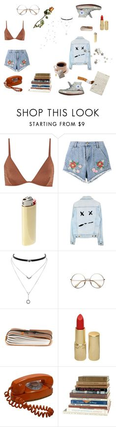 """Even when you smile, you're still cruel"" by victoria-dewolf ❤ liked on Polyvore featuring Melissa Odabash, House of Holland, Converse, Vetements, Jessica Simpson, Retrò, BRONTE, Revlon and prettyunderpinnings"