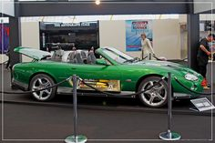 Empire BIG SCREEN : Bond in Motion the cars of James Bond Exhibition - Zao (Rick Yune) Jaguar XKR Convertible by Craig Grobler, via Flickr