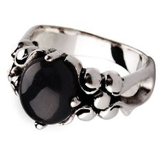 Textured Pattern Onyx Stone Ring .925 Sterling Silver Jewelry for Men