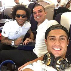 The 3 Amigos b4 Cristiano's ego took over