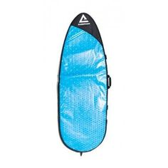 The classic surfboard bag stays true to its timeless design while each piece maintains its own unique style. - One-of-a-kind design - Re-purposed billboard vinyl exterior - UV/heat/water/mildew resist