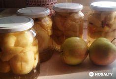 Almabefőtt szegfűszeggel | NOSALTY Pickles, Cucumber, Ale, Fruit, Food, The Fruit, Ales, Meals, Pickling