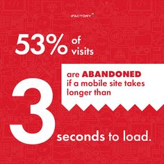 of visits are abandoned if a mobile site takes longer than 3 seconds to load. Need For Speed, Abandoned, Coding, Website, Feelings, Life, Left Out, Programming