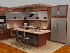 cocinas con islas para espacios pequeos buscar con google