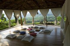 Yoga Pavilion in Honduras