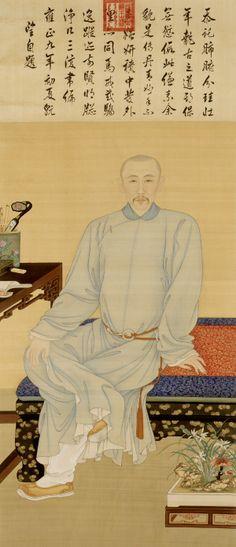 portrait of yinli prince guo ( 1697-1736) 1731