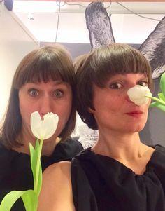 Wir sind von ERIKA. Tanja und Christina senden euch Frühlingsgrüße aus Stuttgart. #spring #greetings #stuttgart Erika, Art Nouveau, Stuttgart