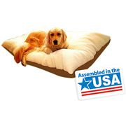 """Walmart: Majestic Pet Bagel Pet Bed Micro Suede Extra Large, 52""""x35""""x11"""""""