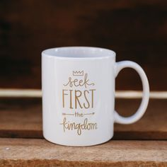 Puddleduck Paper Co. is a paper goods studio based in Athens, Georgia. Founded in 2007 by designer Mattie Tiegreen, their motto is simple: handmade is best.   Seek First His Kingdom.  Love this!