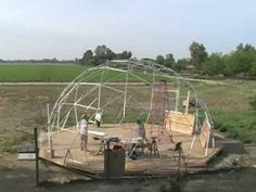 Geodesic Dome Studio - 30' diameter, on 800 sqft deck