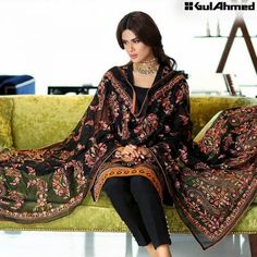 Embroidered Gul Ahmed Collection 2016 For Eid -5