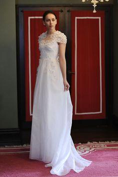 Wedding Dress Trends From New York's Spring/Summer 2014 Bridal Runways (PHOTOS)