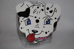 Cookie Jar Lid Dalmatian Puppy Kitchen Home by MTDesignsCrafts, $20.00
