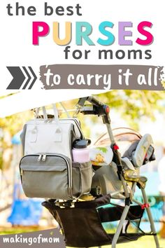 Best Purses for Moms (of Toddlers, Babies and any combination thereof!) Are you looking for a new purse that can double as a toddler 'go' bag or diaper bag in a pinch? Here are our top 10 favorite bags that don't look stuffy and boring! Leather Diaper Bags, Leather Backpack, Baby Changing Pad, Petunia Pickle Bottom, Best Purses, Go Bags, Baby Necessities, Satchel Handbags, Baby Gear