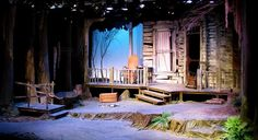 New Conservatory Theatre Center. Set Design Theatre, Stage Design, Box Design, Design Ideas, Theatrical Scenery, Christmas Stage, Witch Decor, Stage Set, Scenic Design