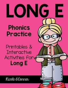 A complete set of interactive phonics resources for Long E!!