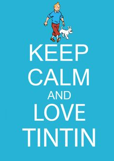 I really got obsessed with Tintin this last yearhe was a childhood comfort through my Dad's passing. Now I collect Tintin! Comic Movies, Comic Books, Comic Art, Haddock Tintin, Keep Calm And Love, My Love, Emission Tv, Fictional Heroes, Comics
