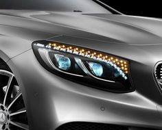 The 2015 Mercedes-Benz S-Class Coupe has 47 crystals in its headlights. Dazzling? Or Pointless? We'll let you decide...