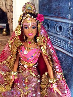 Sundari Gopi Doll - OOAK Barbie Doll - Indian princess - Rukmini