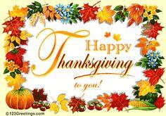 A Wonderful Thanksgiving Wish!
