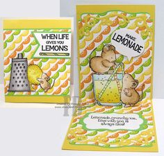 When Life Gives You Lemons created by Frances Byrne using Lots of Pops Pop Up Card; Katie Label Accordion Card - designed by Karen Burniston for Elizabeth Craft Designs; Say What - MFT Stamps. Images from Penny Black Pop Up Cards, Cute Cards, Your Cards, Penny Black Cards, Penny Black Stamps, Lemon Uses, Elizabeth Craft Designs, Mft Stamps, House Mouse