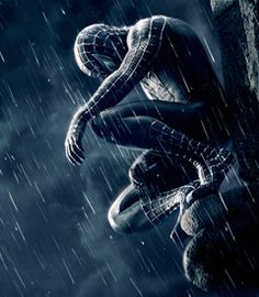 Spiderman In The Chill Of Night At Scene A Crime Like Streak Light He Arrives Just Time