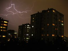 My husband took this lightning photo with his point and shoot Canon PowerShot A3000 in Ankara, Turkey. | Novel Benedictions