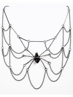 Witches And Wizards Spider Web Body Jewelry