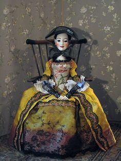 Vita Soyka Marionette, Ann Doll, New Dolls, Ooak Dolls, Beautiful Dolls, Beautiful Artwork, Fabric Dolls, Paper Dolls, Doll Maker