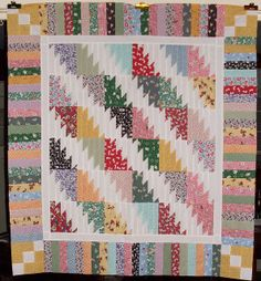 T - Baby Steps by Linda Rotz Miller Quilts & Quilt Tops, via Flickr