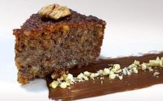 A mouthwatering Greek walnut cake recipe (karidopita), scented with the aromas and blends of cinnamon and grounded clove. Find out how to make the perfect walnut cake with this traditional Greek recipe here. Made with Melba toast crumbs & walnuts. Greek Sweets, Greek Desserts, Cupcakes, Greek Pastries, Cold Cake, Walnut Cake, Greek Dishes, Tray Bakes, Gastronomia