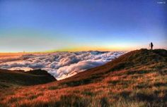 A breathtaking view at the summit of Mt. Photo by: Basekamp Market Market Mt Pulag, Philippines, How To Memorize Things, Mountains, Places, Nature, Travel, Naturaleza, Voyage